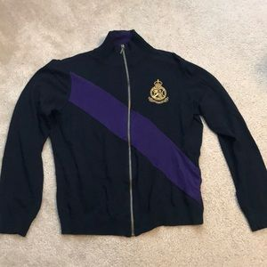 Vintage Ralph Lauren Zip-Up Sweater
